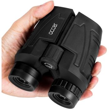5. Occer 12x25 Compact Binoculars with Low Light Night Visionz